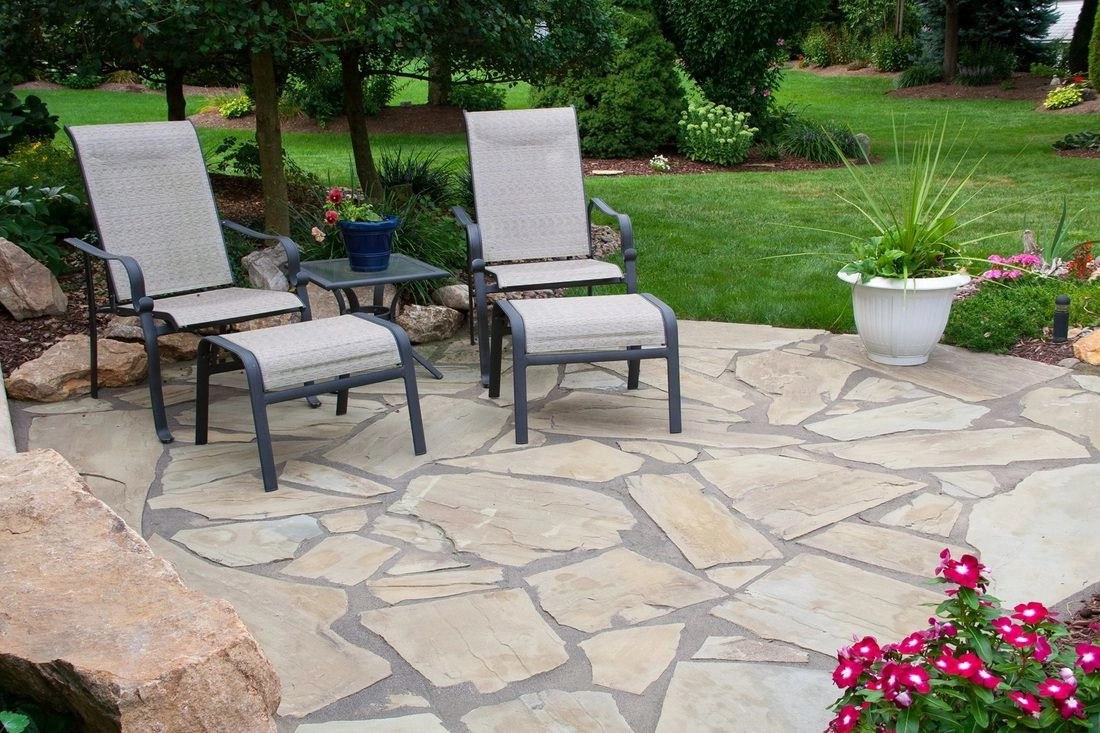 Natural Stone Patio Ideas - Table Rock Company - Natural ... on Rock Patio Designs  id=91601