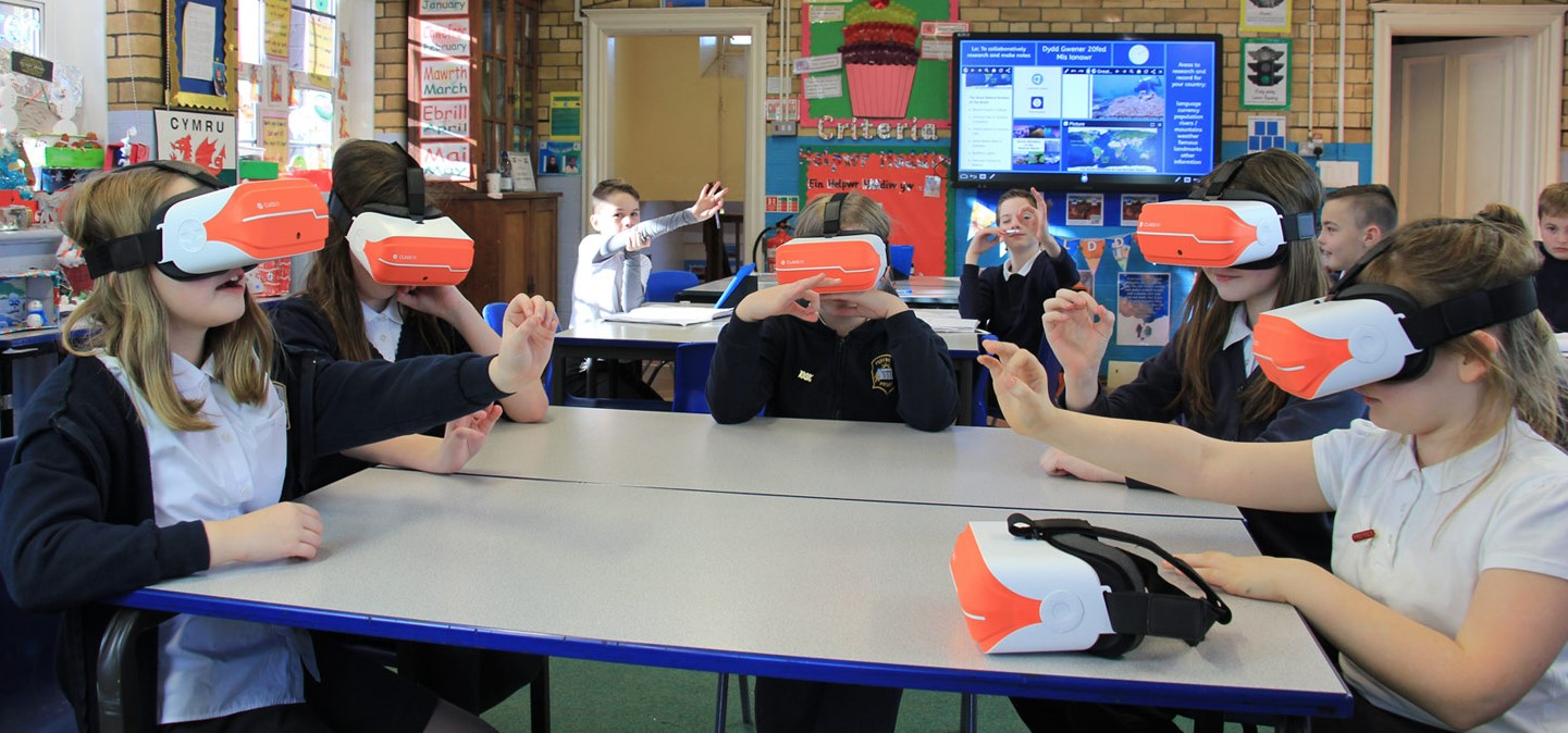 Image result for school vr headsets classroom