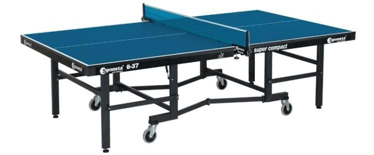 ITTF Table Tennis Table SPONETA S8 37 ITTF Super Compact