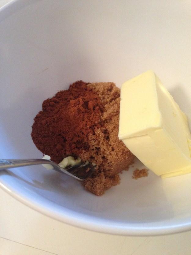 Cinnamon butter sugar ingredients