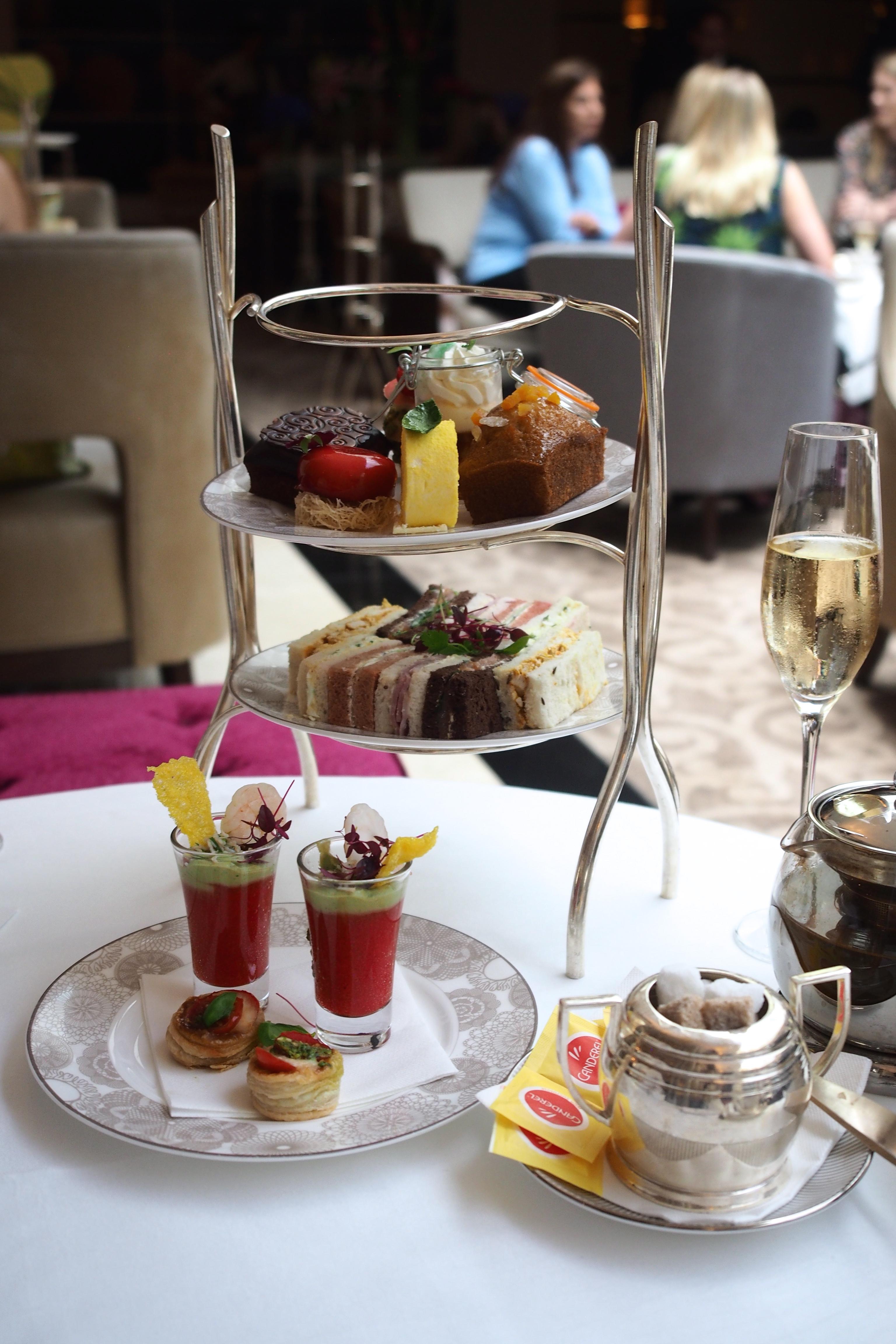 afternoon tea at emmeline u0027s the conrad u2013 london u2013 table to paper