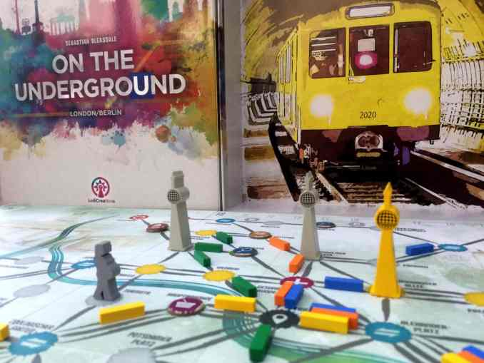 On the Underground London-Berlin Saturday Review