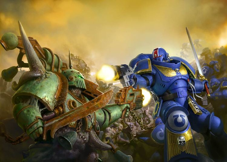 Warhammer 40K 7th Edition vs 8th Edition - Tabletop Games UK