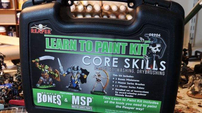 Reaper Learn to Paint Kit