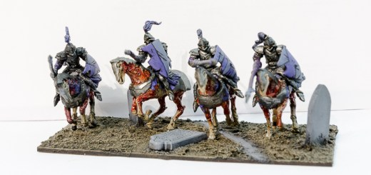 kings of war undead revenant cavalry