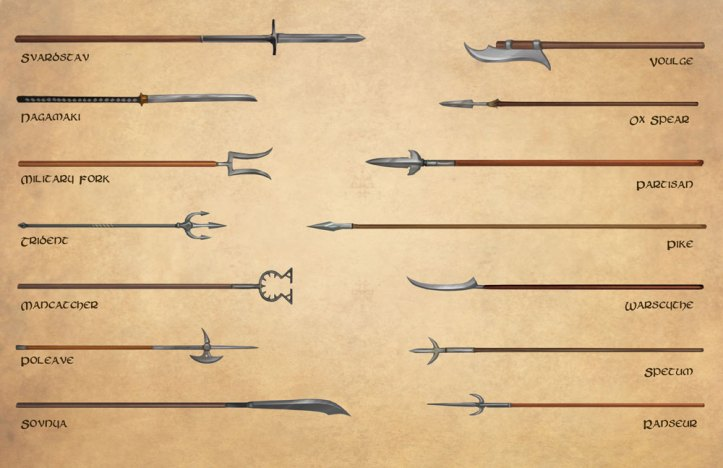 Fantasy RPG Weapons