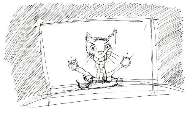 Eat poop you cat illustration