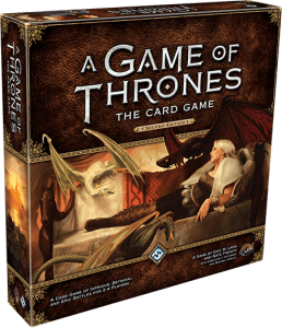 A Game of Thrones: The Card Game (Second Edition) - Box