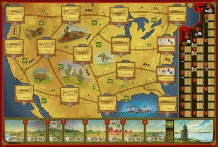 Railroad Revolution - Main Board