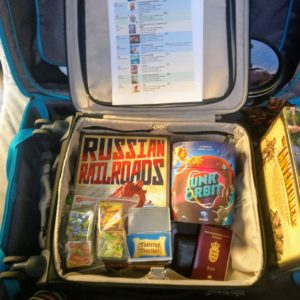 Packing for UK Games Expo 2018