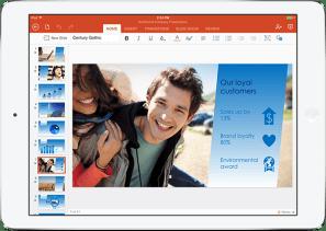 PowerPoint y el nuevo aspecto de Office...