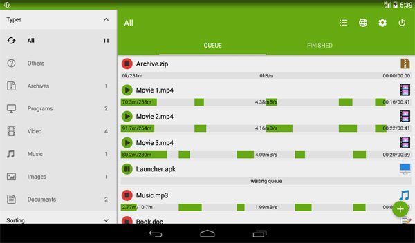 Advanced Download Manager Pro v5.1.2 build 51251