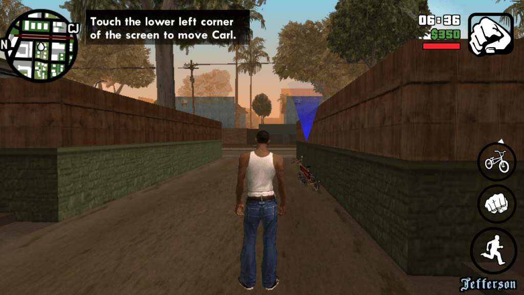 ScreenshGrand Theft Auto: San Andreas v1.0.8