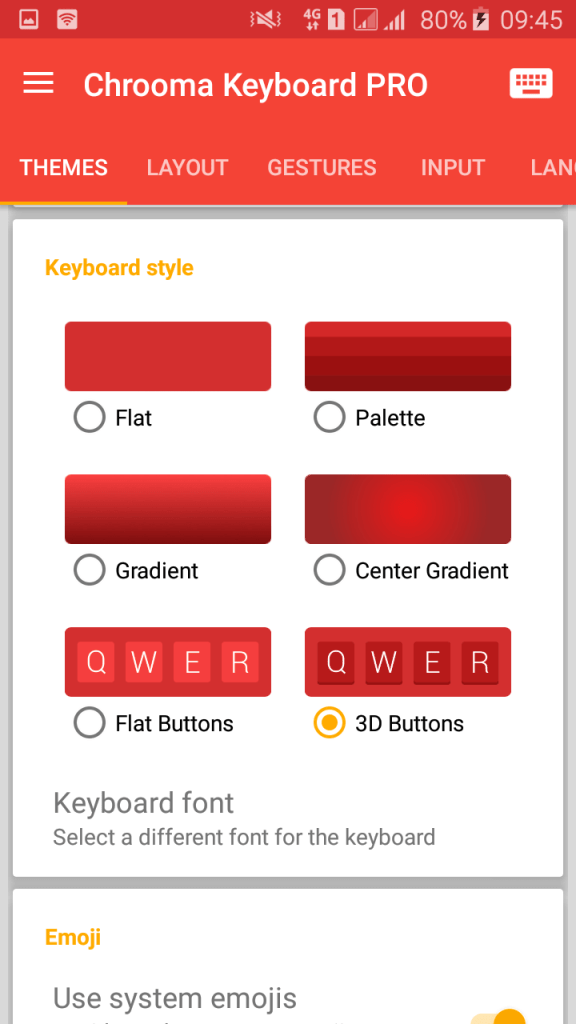 Chrooma Keyboard Emoji v3.0.9.1