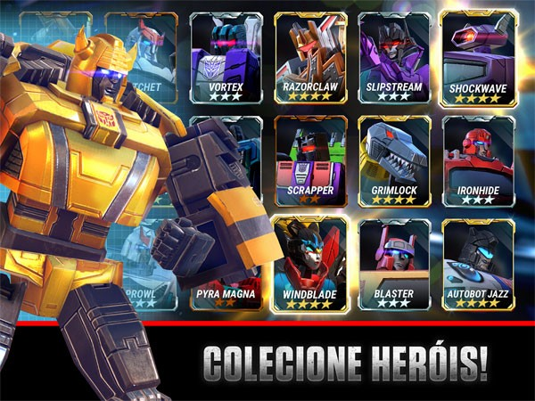Transformers: Earth Wars Android