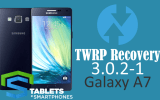 TWRP no Galaxy A7 Marshmallow