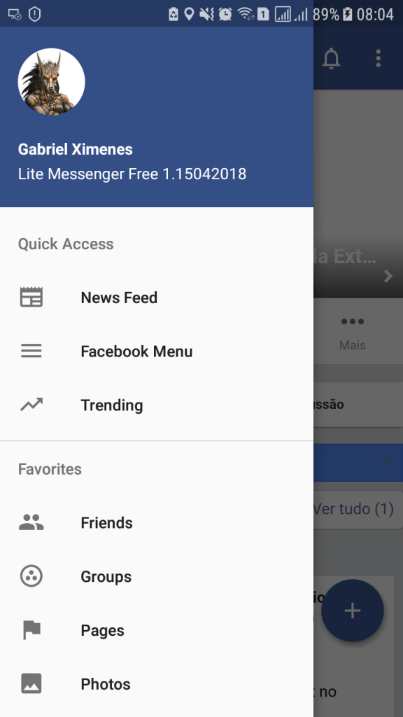 Messenger for Facebook Pro mod
