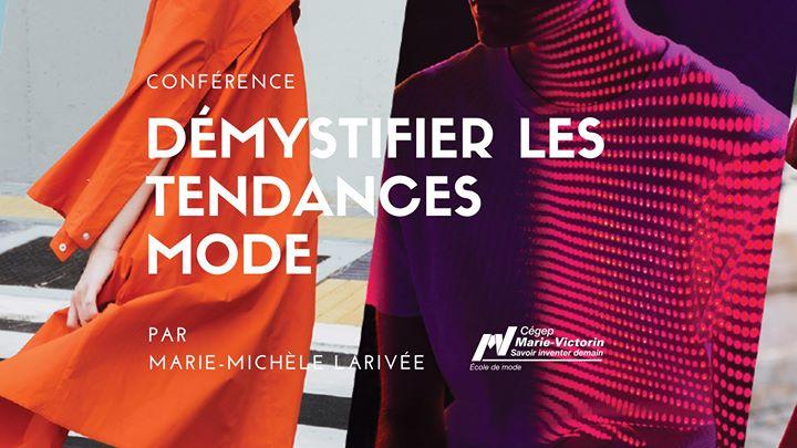 Démystifier les tendances mode @ École de mode du Cégep Marie-Victorin | Montreal | QC | Canada