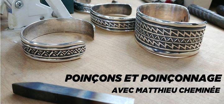 Cours de perfectionnement: Poinçons et poinçonnage @ École de joaillerie de Montréal | Montreal | QC | Canada
