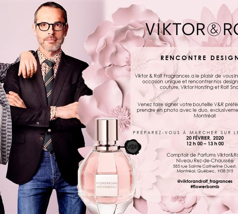 VIKTOR&ROLF – APPARENCE PUBLIQUE / MEET & GREET