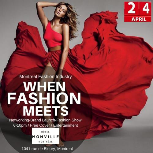 MONTREAL FASHION INDUSTRY PRESENTS: WHEN FASHION MEETS NETWORKING @ Hôtel Monville | Montréal | QC | CA
