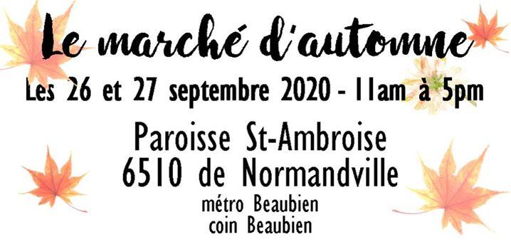 Marché d'automne 2020 @ Marché artisanal Montréal | Montreal | QC | Canada