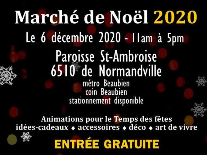 Marché de Noël 2020 @ Marché artisanal Montréal | Montreal | QC | Canada