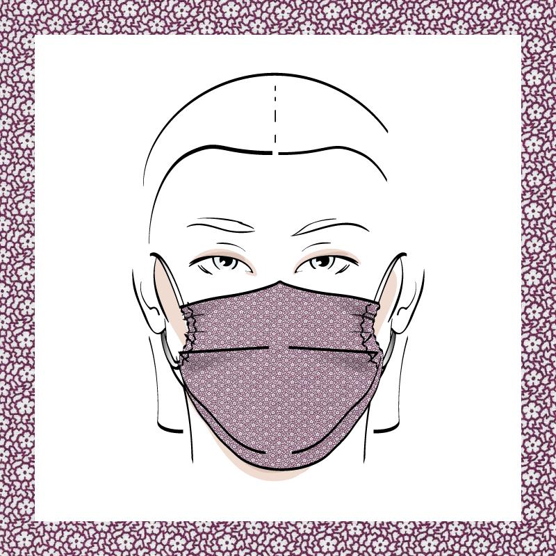 Couvre-visage 3 épaisseurs | Le 336