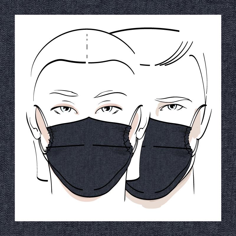 Couvre-visage 3 épaisseurs | Le 346
