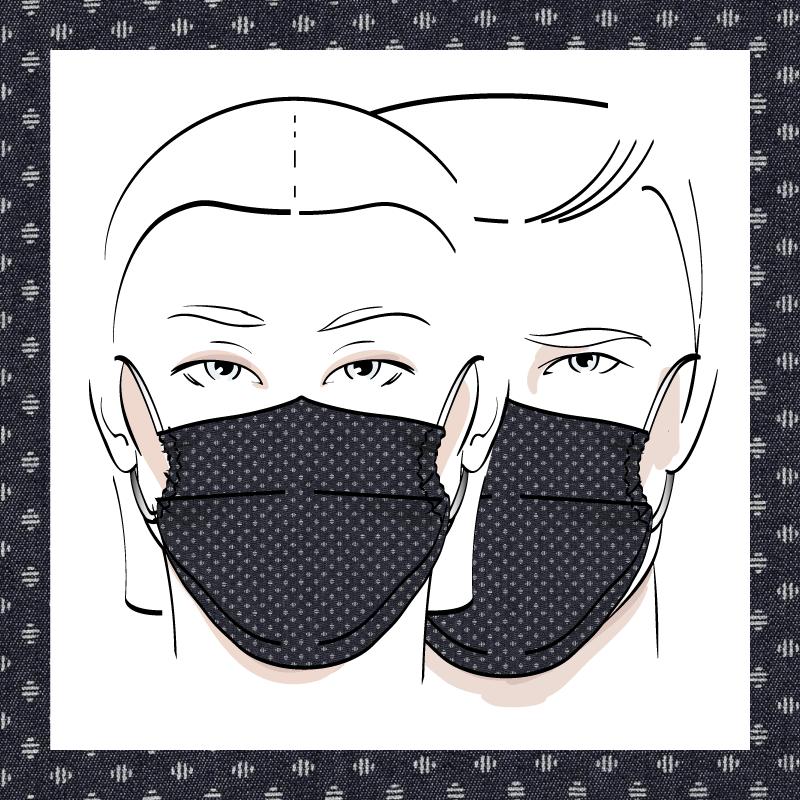Couvre-visage 3 épaisseurs | Le 373