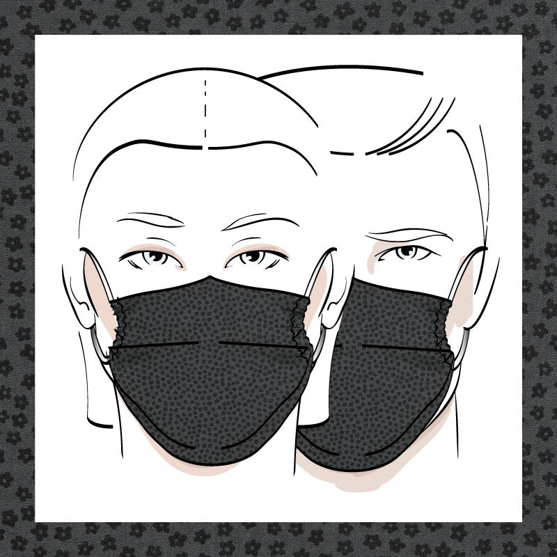 Couvre-visage 3 épaisseurs | Le 377