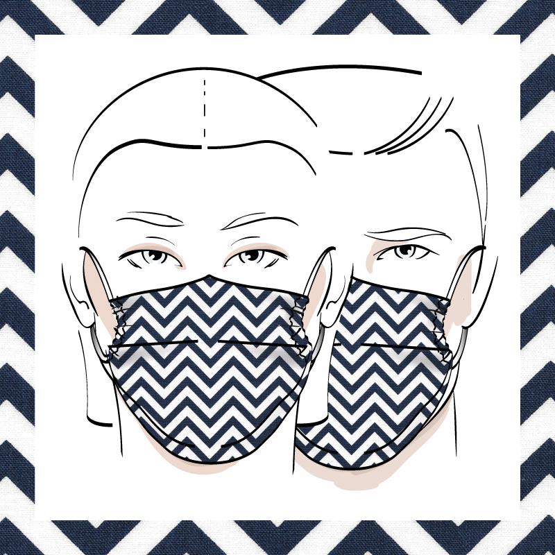 Couvre-visage 3 épaisseurs | Le 400