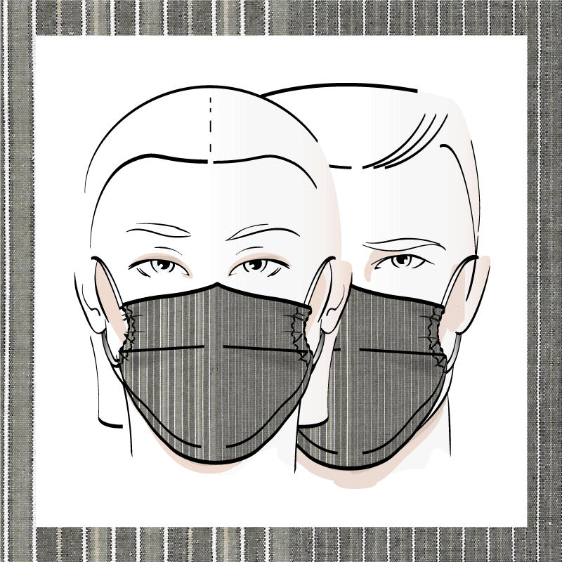 Couvre-visage 3 épaisseurs | Le 345