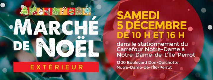 Marché extérieur de Noël @ Carrefour Notre Dame | Montreal | QC | Canada