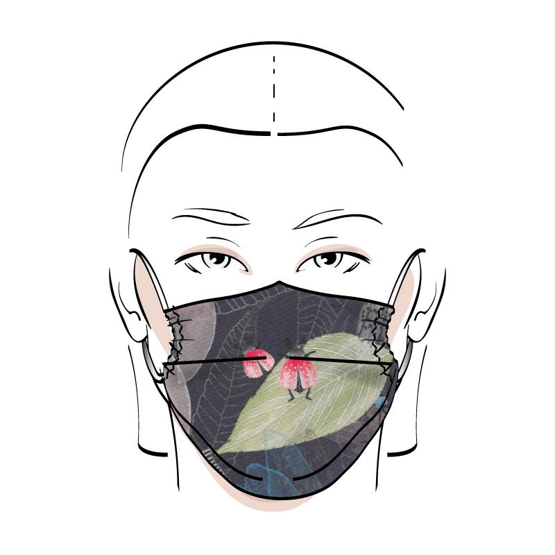 No. 431 – Couvre-visage 3 épaisseurs