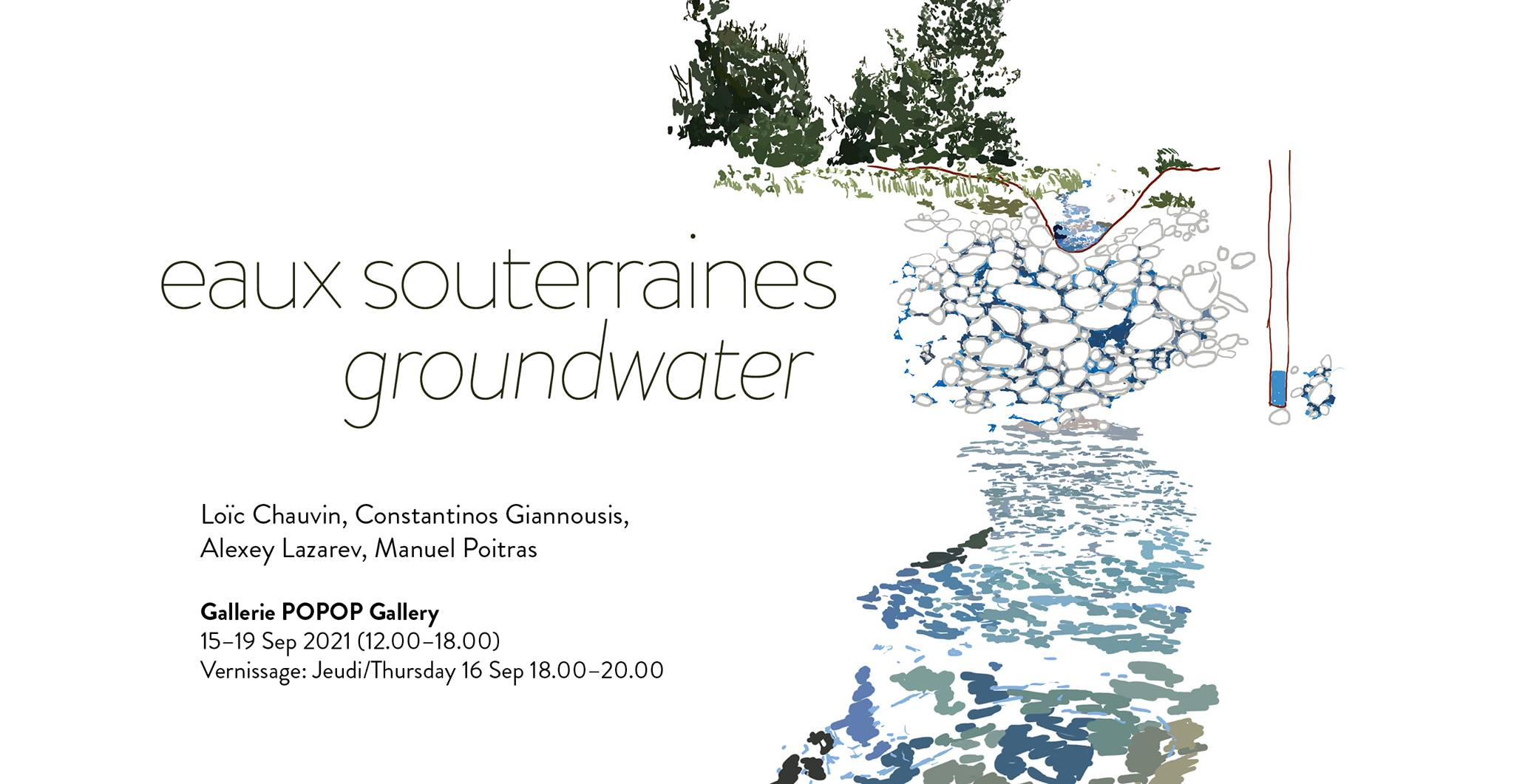 Exposition Eaux souterraines / Groundwater