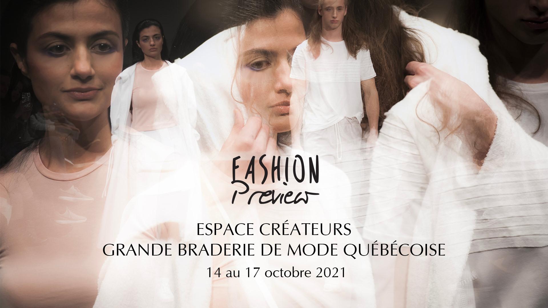 Fashion Preview à la Grande Braderie de Mode Québécoise