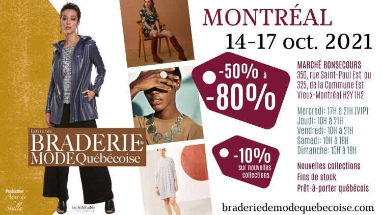Braderie de MONTRÉAL @ Marché Bonsecours | Montreal | QC | Canada