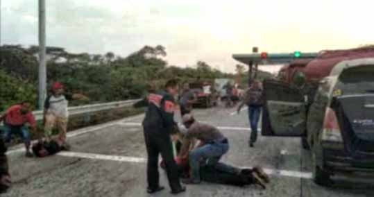 Bandar Malaysia Kirim Sabu ke Mojokerto, 2 Pengedar Diringkus di Tol