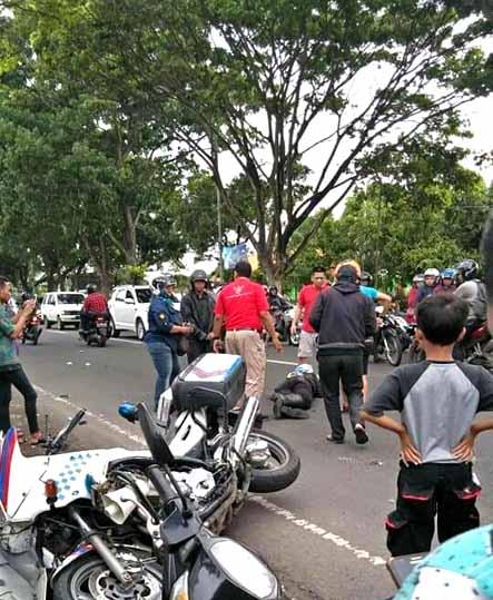 Anggota Patwal Polres Mojokerto, Tewas Kecelakaan di Kota Malang