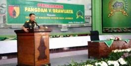 Pangdam V/Brawijaya Minta TNI Tunjukkan Netralitas
