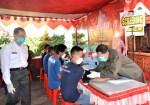 600 Warga Binaan Lapas Lowokwaru Divaksin