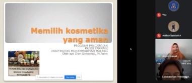 SMAMSA-Farmasi FIKES UMM Bahas Kosmestik Aman Remaja SMP 1
