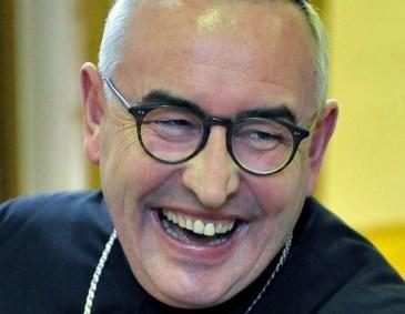 biskup Jarecki przed wypadkiem