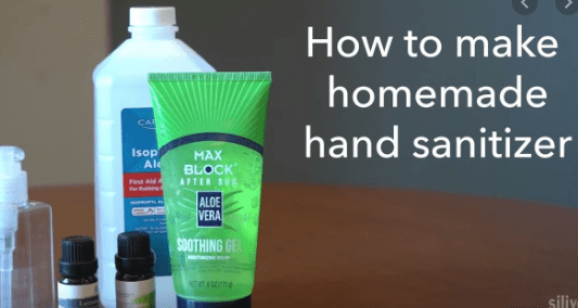 How to Make a Hand Sanitizer
