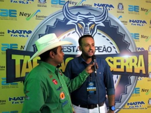 Em 2014, Ney Santos organizou um rodeio em Taboão da Serra realizado em terreno particular. (Foto: Arquivo)