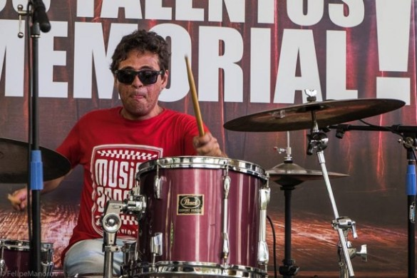 Baterista Bruno Mendes foi encontrado em Pinheiros após desaparecer na madrugada de sexta para sábado. (Foto: Reprodução)