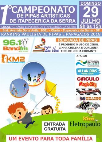 Campeonato de Pipas de Itapecerica da Serra 2018