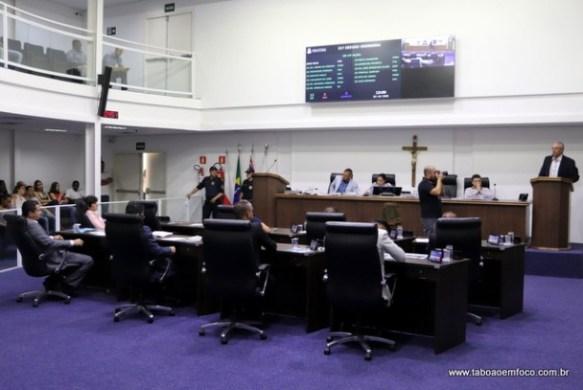 Após semanas com conflitos, sessão na Câmara de Taboão da Serra volta a tranquilidade.