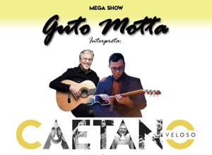 Guto Motta faz show em homenagem a Caetano Veloso